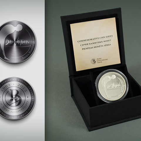 Baltic International Bank Commemorative coin