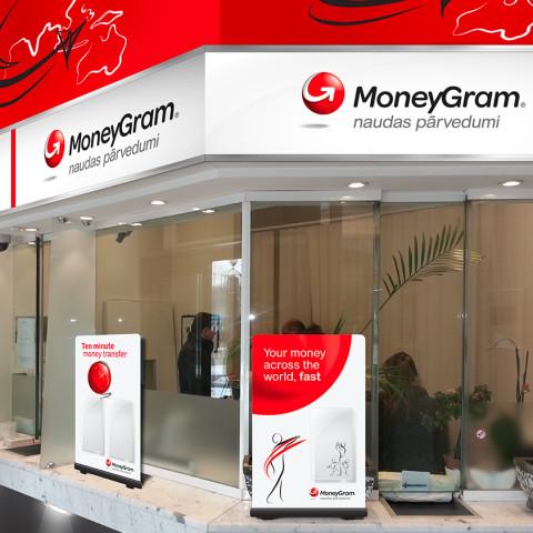 MoneyGram agent location design