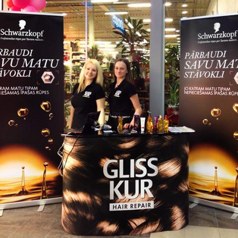 Gliss Kur promo campaign