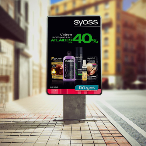 SYOSS days in Drogas stores