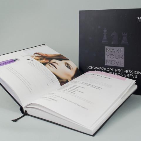 Schwarzkopf Professional Congress Print materials