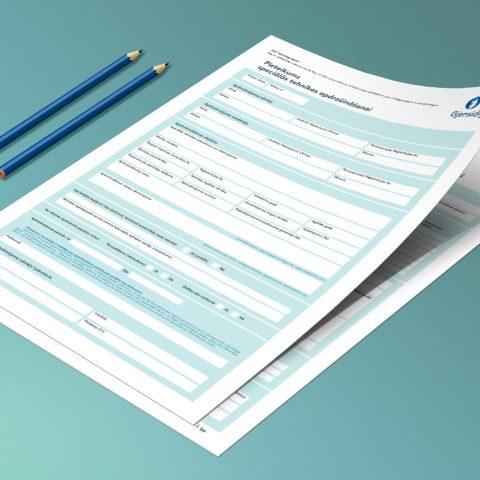 ADB GJENSIDIGE filiāles Latvijā noteikumi un elektroniskās pieteikuma formas