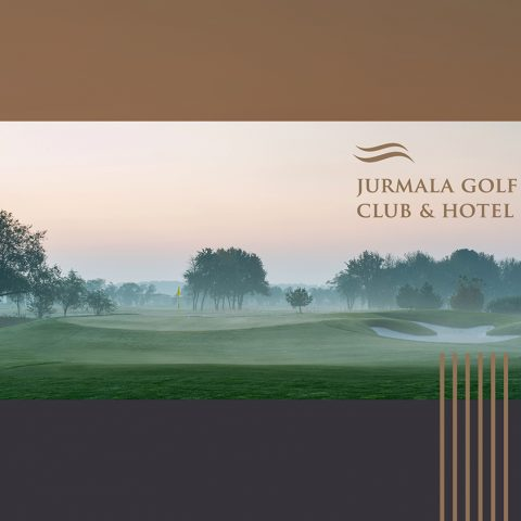 Jūrmala Golf Club & Hotel buklets