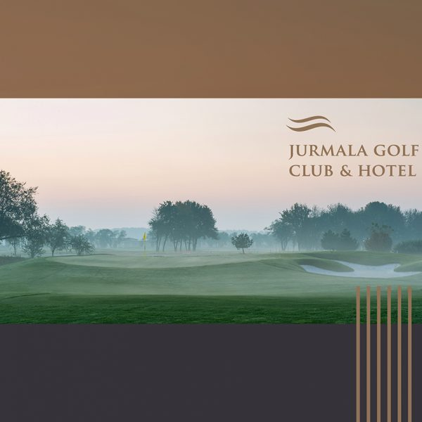 Jurmala Golf Club & Hotel brochure design